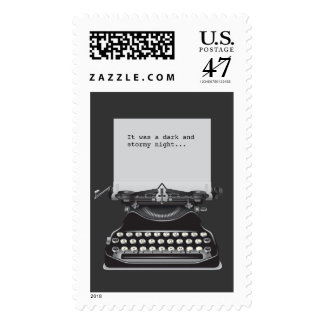 It Was A Dark and Stormy Night Postage