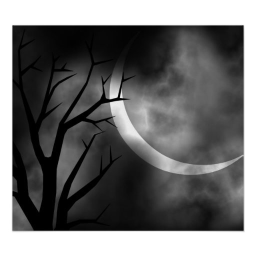 It was a dark and stormy night print