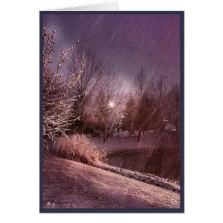 It Was A Dark & Stormy Night (Card) Card
