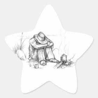 It was a long night.... star sticker