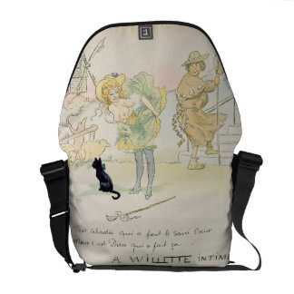 'It was Abadie who made the Sacre-Coeur, but God m Messenger Bag