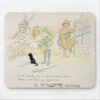 'It was Abadie who made the Sacre-Coeur, but God m Mouse Pad