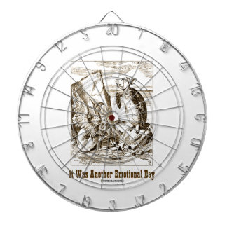 It Was Another Emotional Day (Alice Mock Turtle) Dart Boards