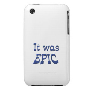 It Was Epic iPhone 3 Case