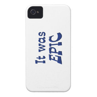 It Was Epic iPhone 4 Case-Mate Case