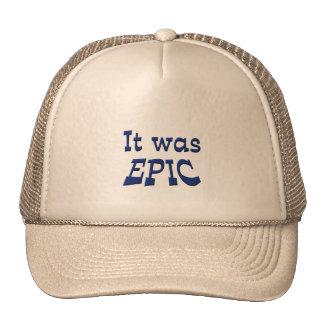 It Was Epic Mesh Hat