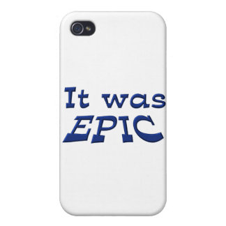 It Was Epic Cover For iPhone 4