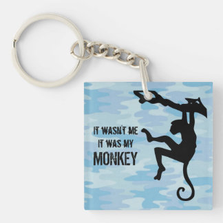 It Was My Monkey Keychain