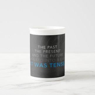 It Was Tense Tea Cup