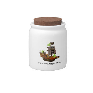 It Was That Kind Of Dream (Android Ghost Ship) Candy Jars