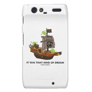 It Was That Kind Of Dream Android Ghost Ship Droid RAZR Cover