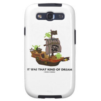 It Was That Kind Of Dream Android Ghost Ship Galaxy S3 Cover