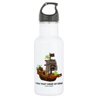 It Was That Kind Of Dream (Android Ghost Ship) 18oz Water Bottle