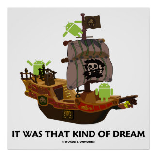 It Was That Kind Of Dream (Android Ghost Ship) Poster