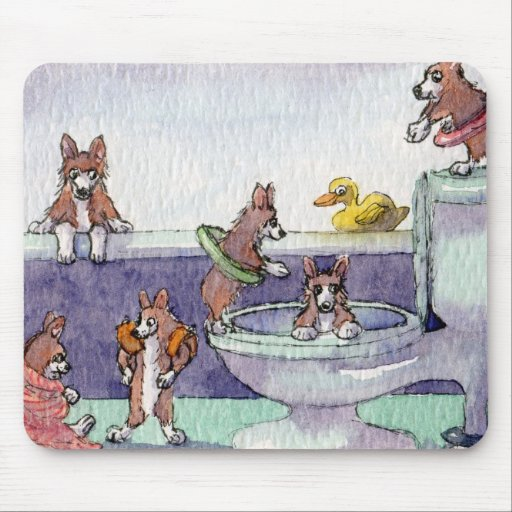 It Was Their Very Own Indoor Pool MOUSE MAT Mousepad