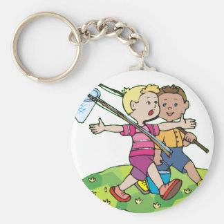 It Was This Big Key Chain