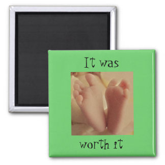 It was , worth it 2 inch square magnet