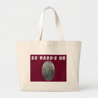It wasn't me in red tote bag