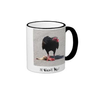 It Wasn't Me! Ringer Coffee Mug