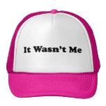 It Wasn't Me Trucker Hats