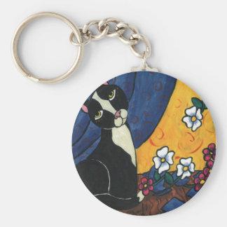 It Wasn't Me - Tuxedo Cat Key Chain
