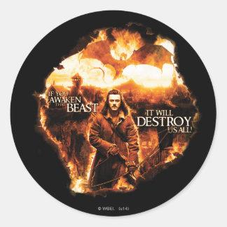 It Will Destroy Us All! Classic Round Sticker