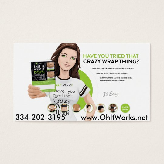 It Works Wake Up Now Business Cards Wakeupnow Card Zazzle Com
