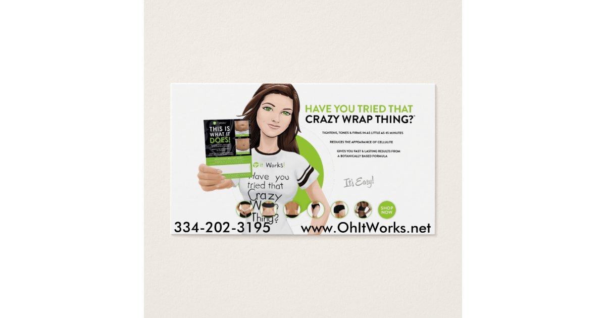 it works wake up now business cards wakeupnow card | Zazzle.com