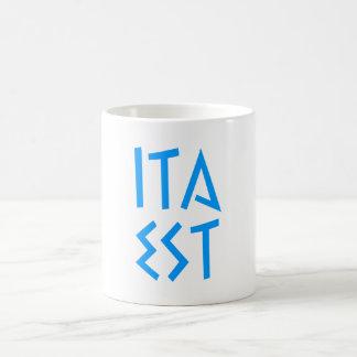 ita est coffee mugs