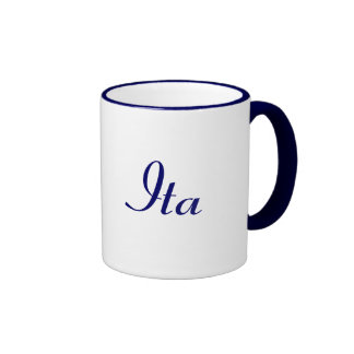 Ita Ringer Coffee Mug