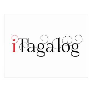 ITAGALOG TARJETA POSTAL