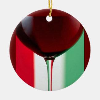 ITALAIN WINE ORNAMENT