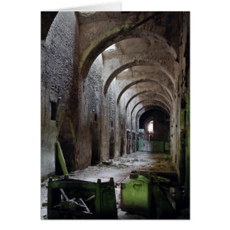 Italcementi Cave Greeting Card