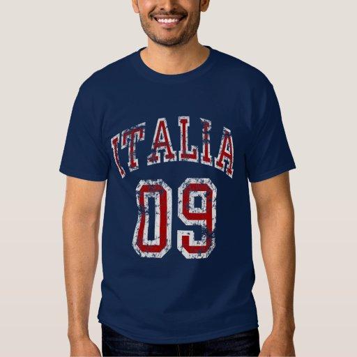 Italia 09 t shirts