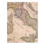 Italia 10 tarjeta postal