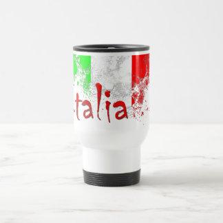 Italia 15 Oz Stainless Steel Travel Mug