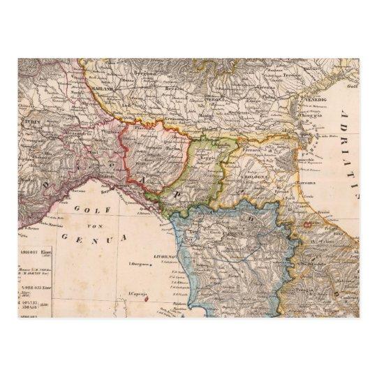Italia 15 tarjeta postal