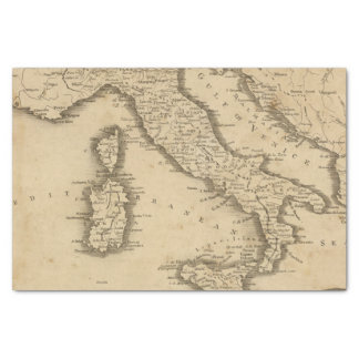 Italia 18 papel de seda pequeño