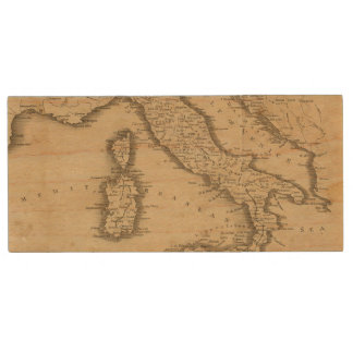 Italia 18 pen drive de madera USB 2.0