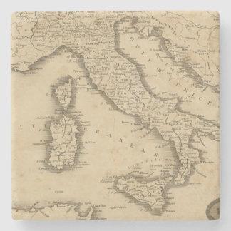 Italia 18 posavasos de piedra