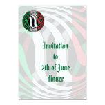 Italia #1 invitación 12,7 x 17,8 cm