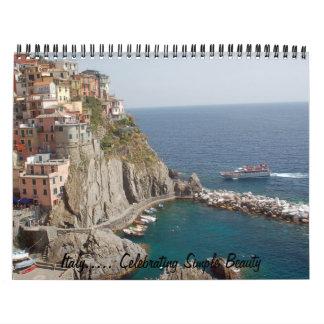 Italia 2010 calendarios de pared