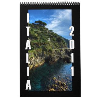 Italia 2011 calendario de pared