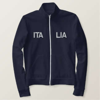 Italia 2014 embroidered sports Italy 2012 top