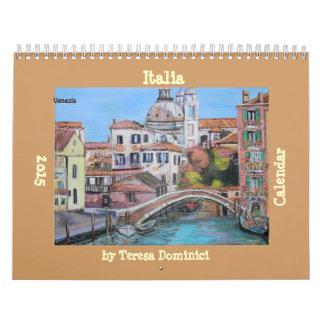 Italia 2015 Wall Calendar