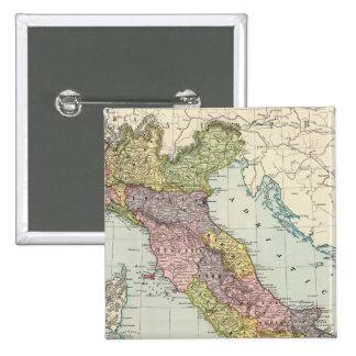 Italia 28 pin cuadrada 5 cm