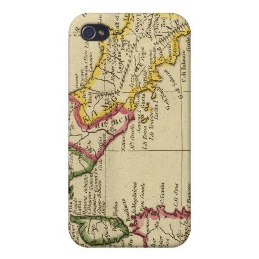 Italia 3 iPhone 4 cárcasas