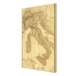 Italia 3 lona envuelta para galerías