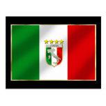 Italia 4 mide el tiempo del camisetas y de los reg