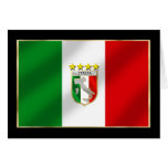 Italia 4 mide el tiempo del camisetas y de los reg tarjeton